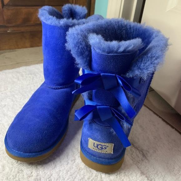 e29e6934dd7 ROYAL BLUE BAILEY BOW UGGS